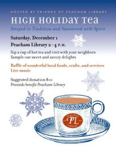 Holiday Tea poster