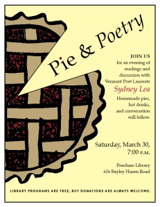 Pie and Poetry