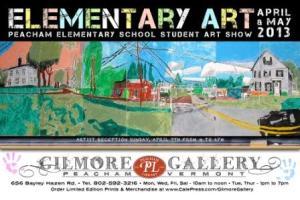 Peacham Elementary Art Show
